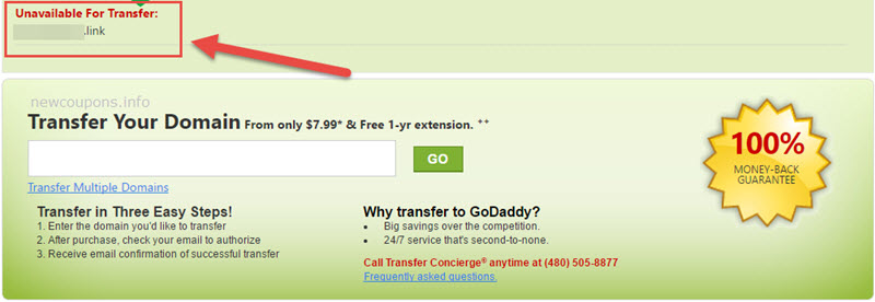 GoDaddy has stopped selling Uniregistry gTLDs