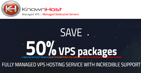 50% OFF knownhost coupon code in June 2017