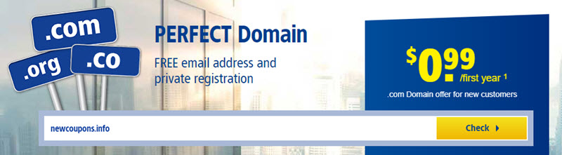 Register Cheap Domain Names From 1and1.com