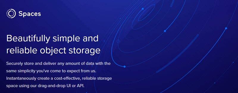 DigitalOcean Spaces is now Available in Singapore datacenter