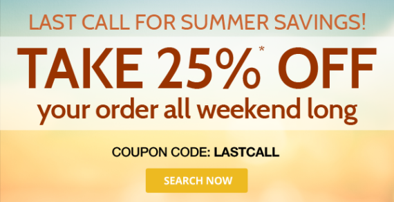 Take 25% off on new domain registrations at Domain.Com