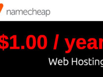 NameCheap Hosting Coupon for just $1 per Year