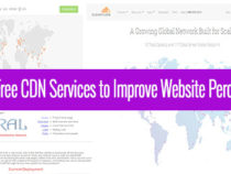 Top 3 Free CDN Services that Helps Speed Up Your Website