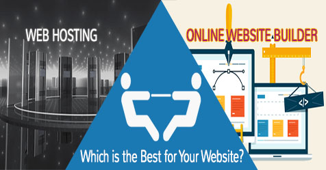 Which one is better: Online Website Builder or Web Hosting?