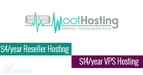 WootHosting Offer: Reseller Hosting from $4/yr, VPS from $14.00/yr
