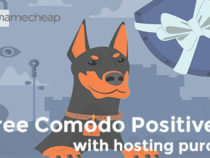 NameCheap offers free year Comodo SSL on Shared Hosting