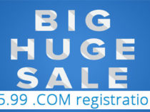 $5.99 .COM registrations, up to 10 domains – Name.Com