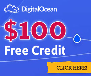 Free $100 DigitalOcean Credit