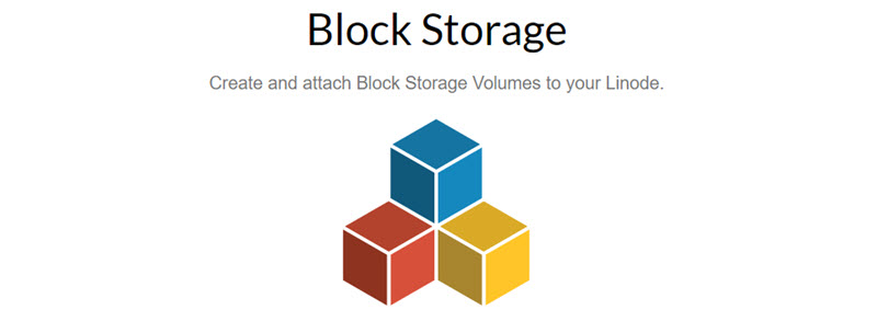 Linode just released the Block Storage, $0.10/GiB per month