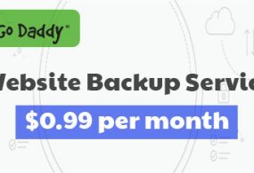 GoDaddy Website Backup Service Now Just $0.99/mo