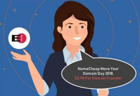 NameCheap Move Your Domain Day 2018 – $3.98 Per Domain Transfer