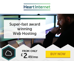 Heart Internet Web Hosting 249