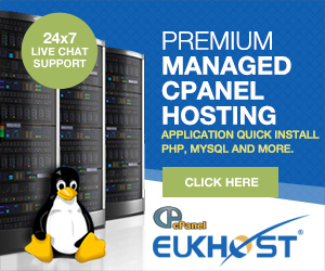 eukhost premium managed cpanel hosting banner 300x250