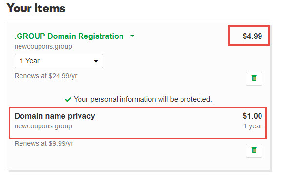 Register 15 Domains - $4.99/Year Each For 2 Days at GoDaddy